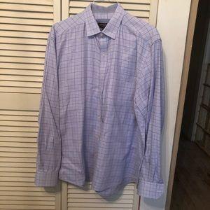 Johnston & Murphy Mens Button Down L/S Shirt XL